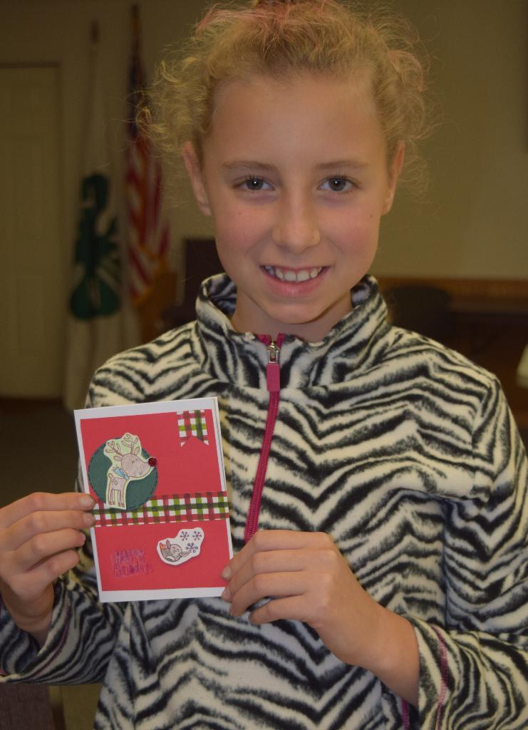 Elise's favorite completed card