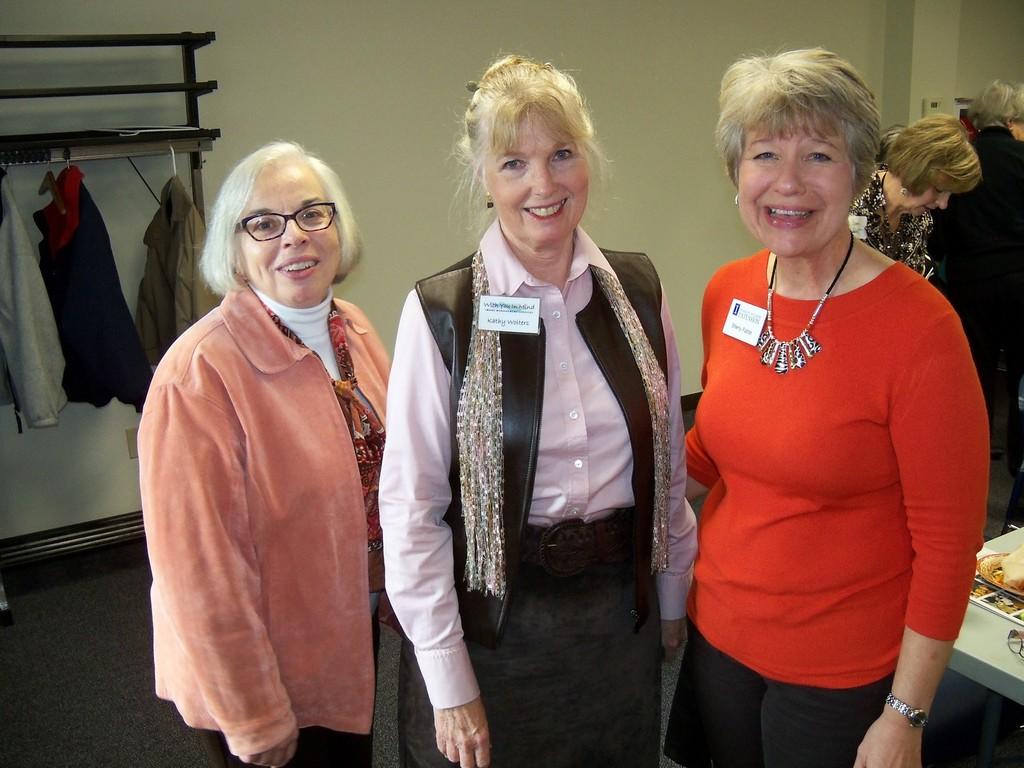 Jananne Finck, Kathy Walters, Sherry Fulton