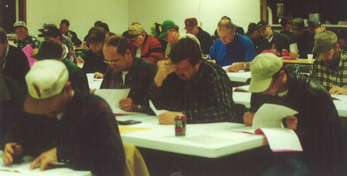 Private Pesticide Safety Education class - 2001