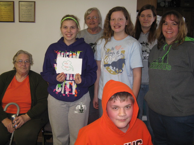 4-H Friends Trivia Team