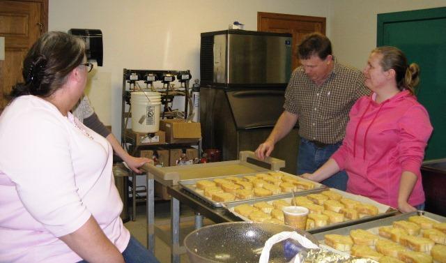 The garlic bread crew