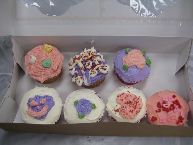 Completed cupcakes!