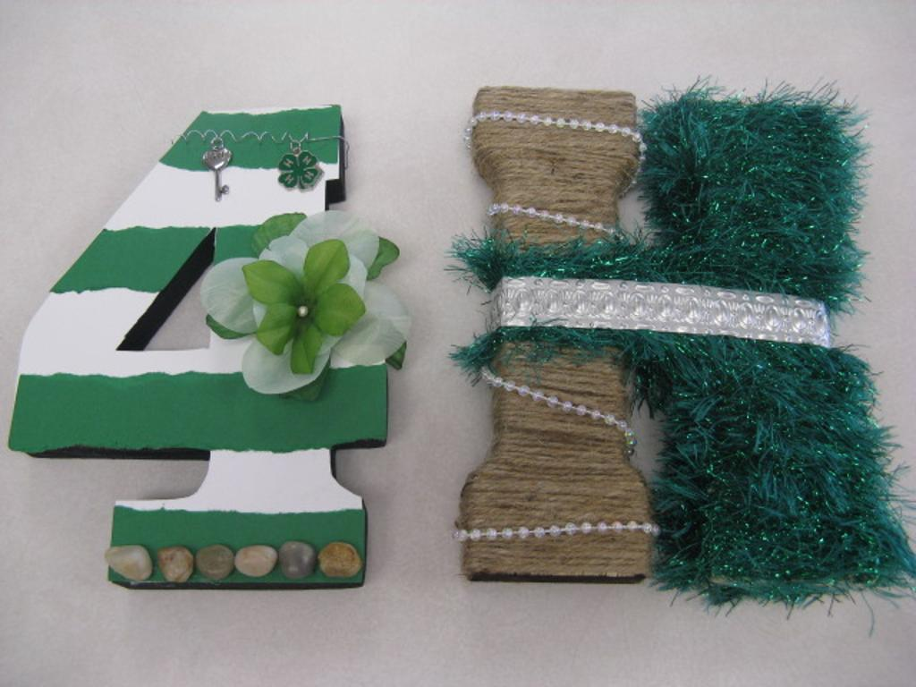 An example project - clever 4-H design!