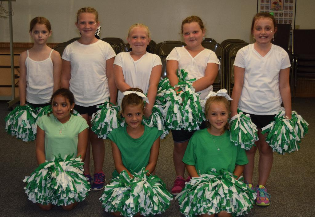 4-H Cheer SPIN club participants!