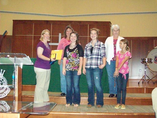 Adams Club of the year – Country Cousins 4-H Club was honored as the 1st place 4-H Club for 2013.