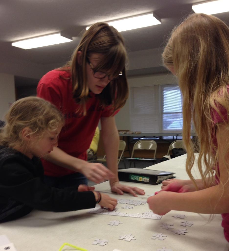 """Alyssa helps Chester youth """"puzzle"""" out parts of 4-H records"""