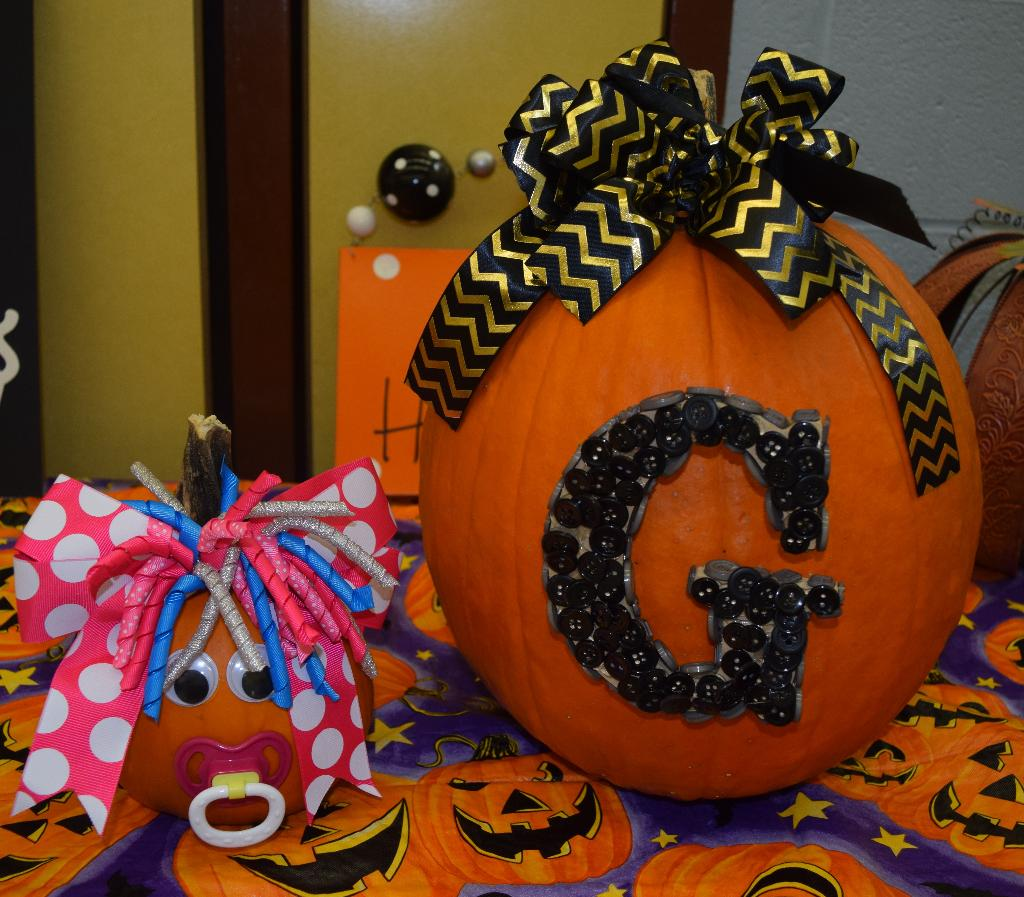 More for the pumpkin decorating contest.