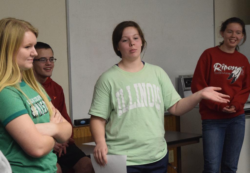 Katlyn does some explaining