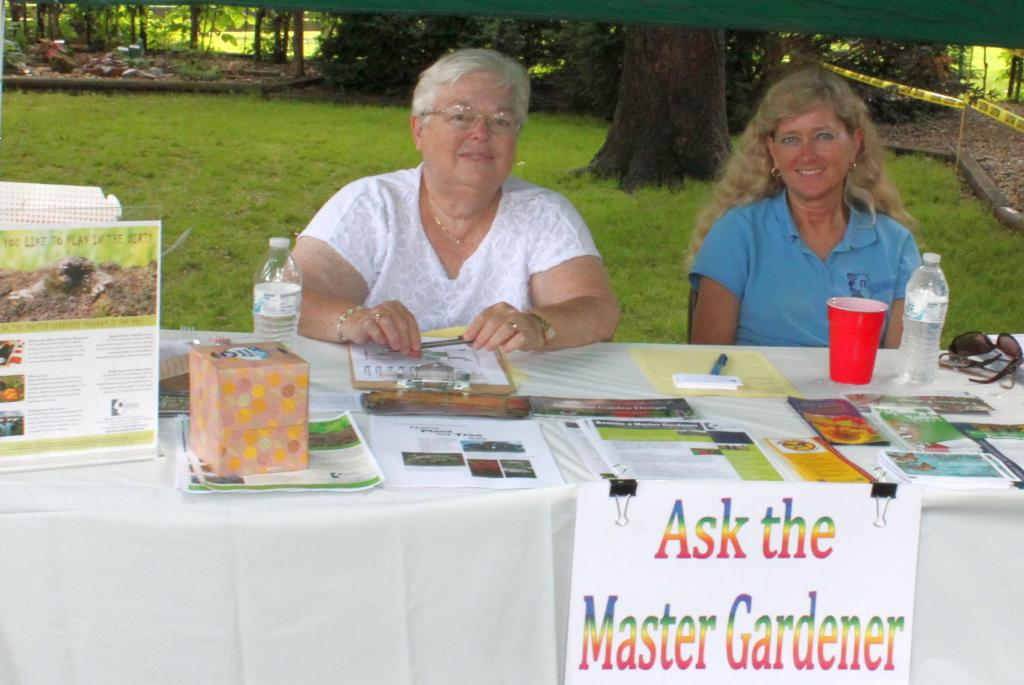You can always Ask a Master Gardener questions at our gardening events!