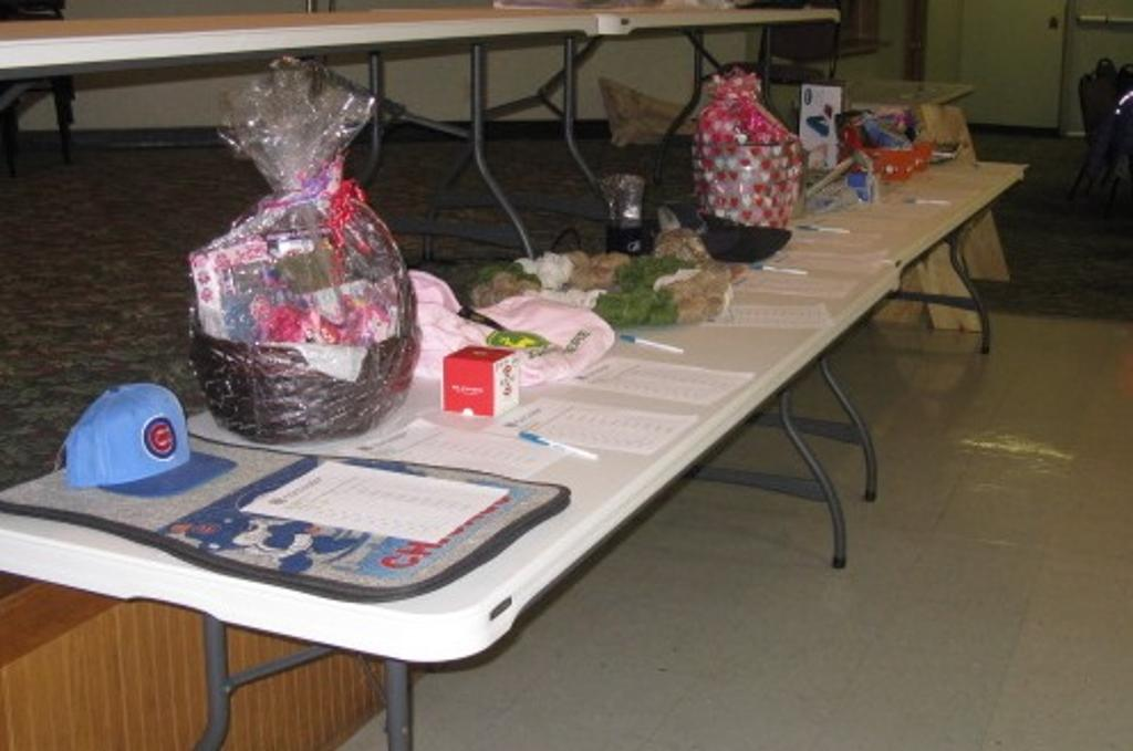 More items for the Silent Auction