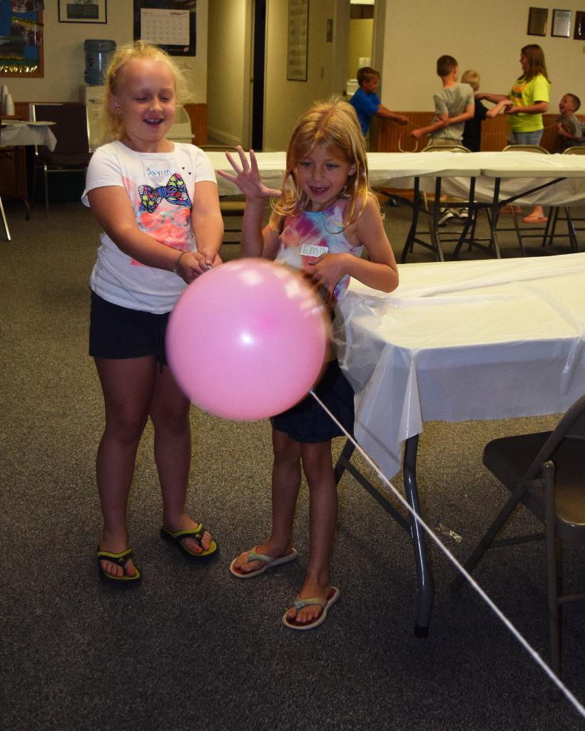 More balloon rocket fun