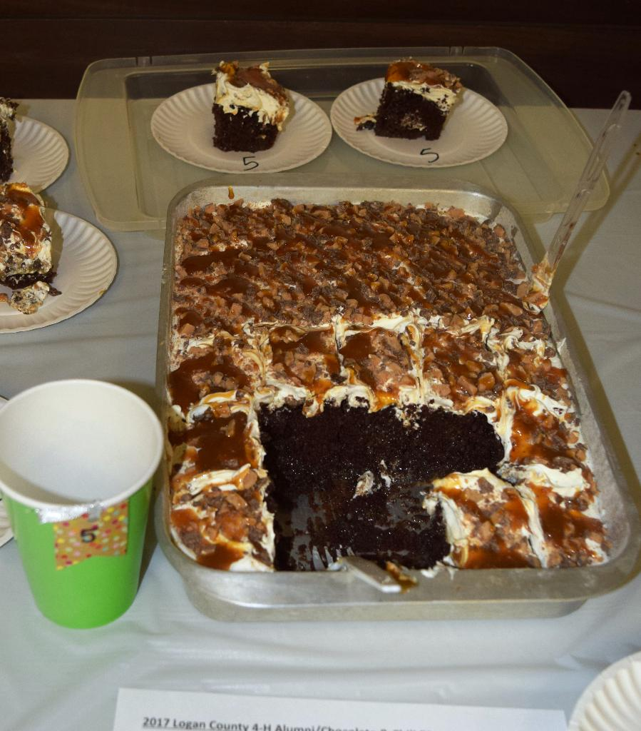 """""""Better than anything"""" cake entry"""