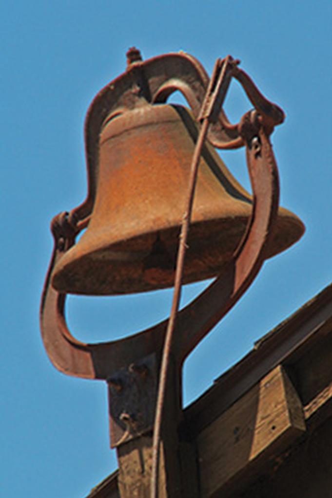 It's a bell, sir.