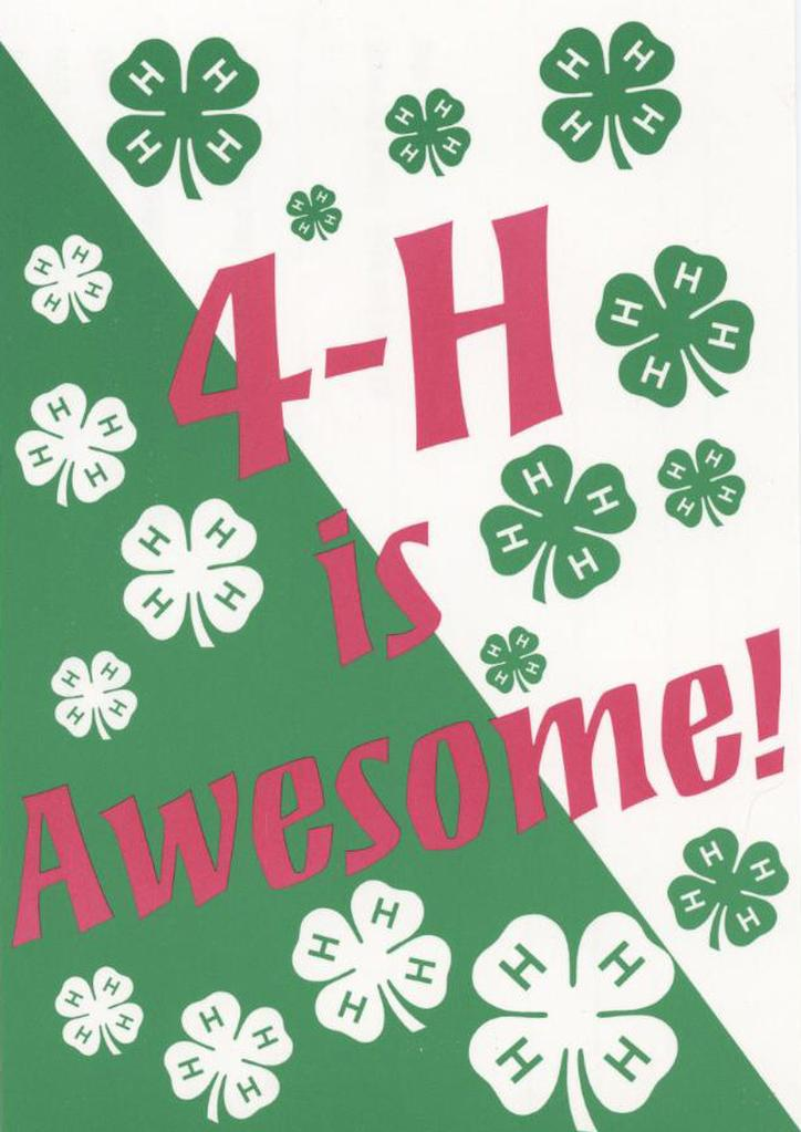 4-H is Awesome!