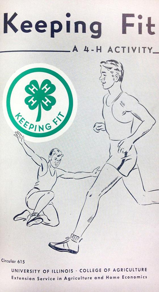 Keeping Fit - A 4-H Activity.