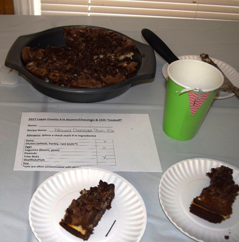 Brownie Cheesecake Pecan Pie entry
