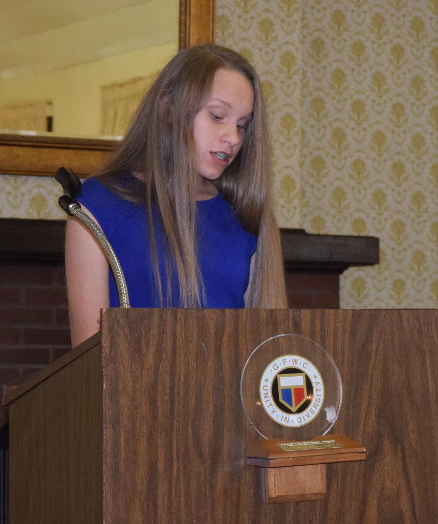 Caroline Ahrends, Chester 4-H nominee, shares info about her 4-H experiences