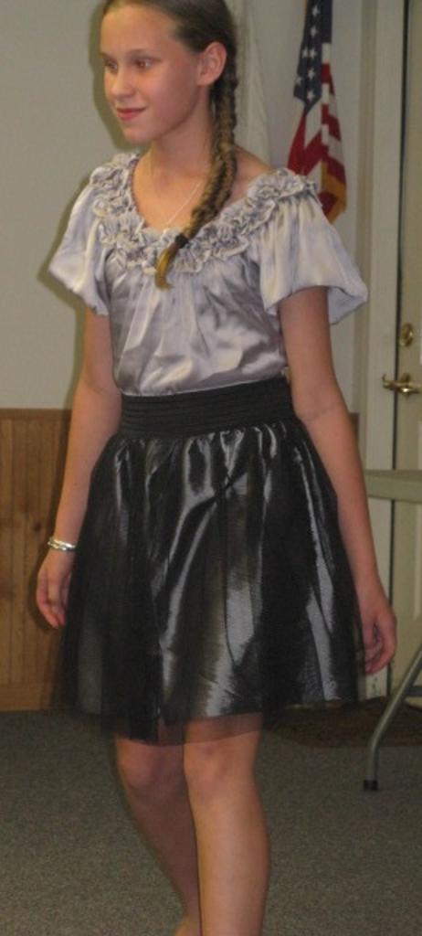 Caroline in the Fashion Revue