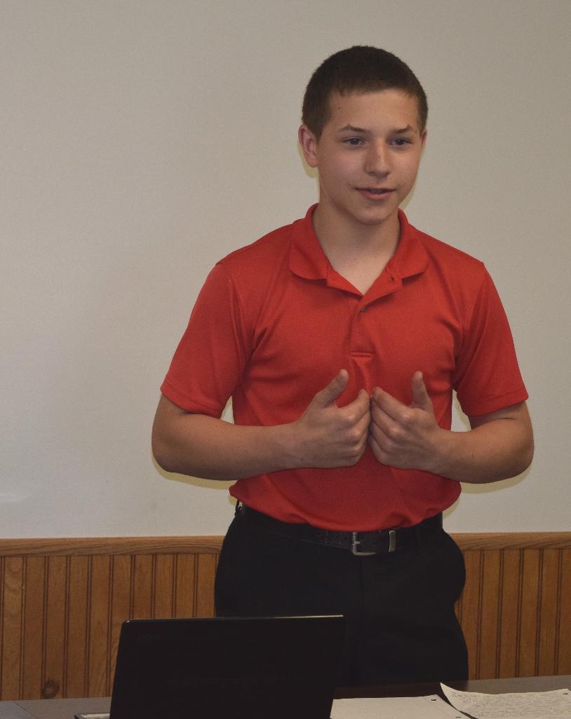 Cavit chose Extemporaneous Speaking