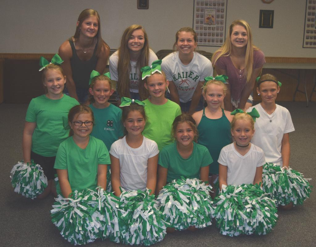 4-H Cheer participants and leaders