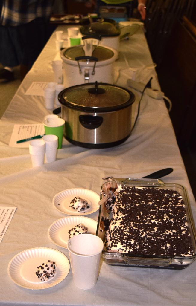 More chocolate and chili entries