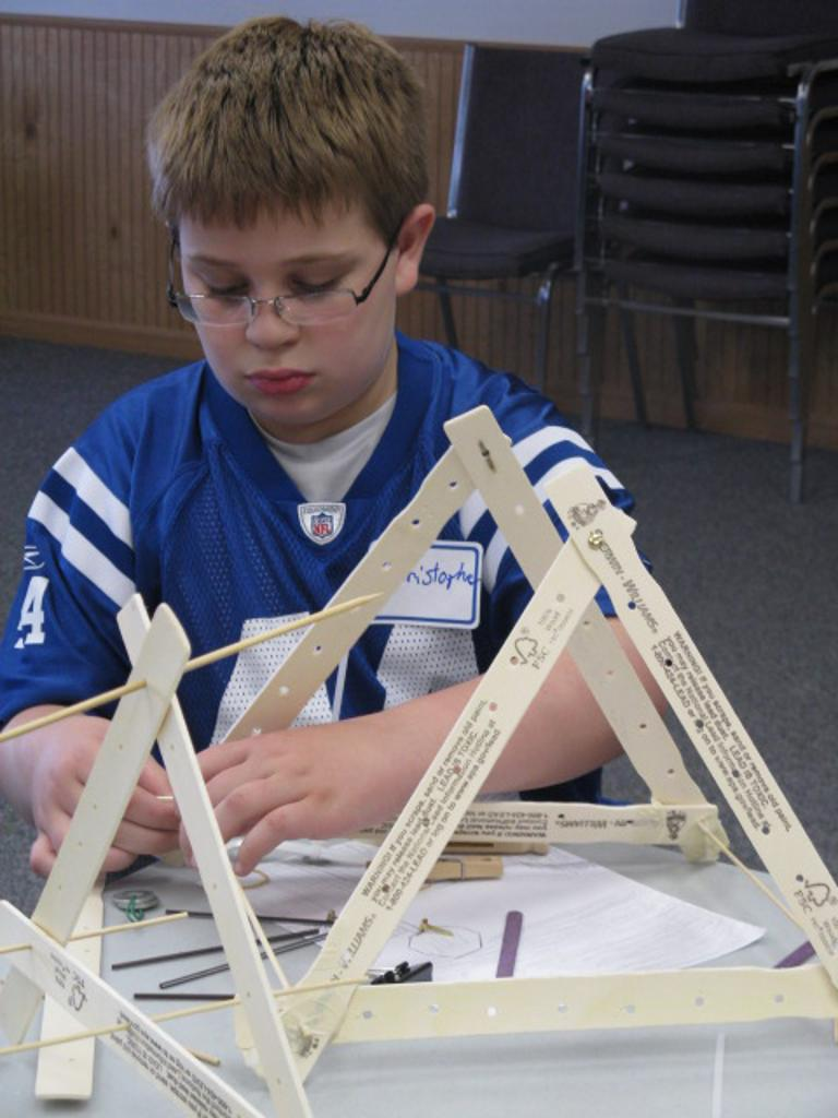 Christopher and his catapult