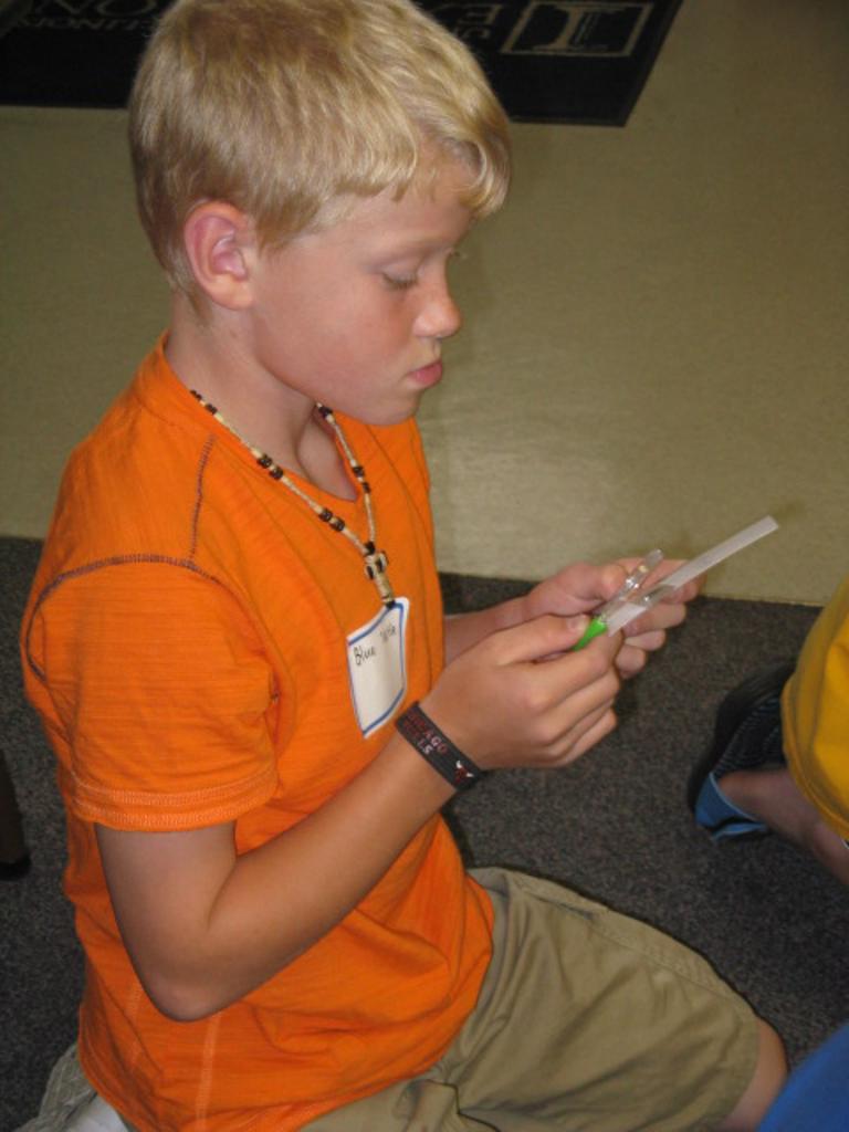 Examining fingerprints
