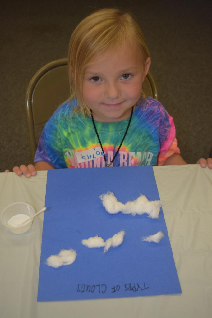 Khloe learning cloud shapes