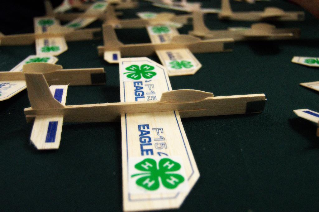 All aboard for smooth flying adventures this 4-H year!