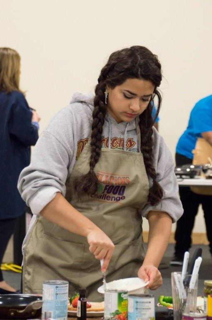 Jazmin Valencia of the Lazy Cooks of DeWitt County.