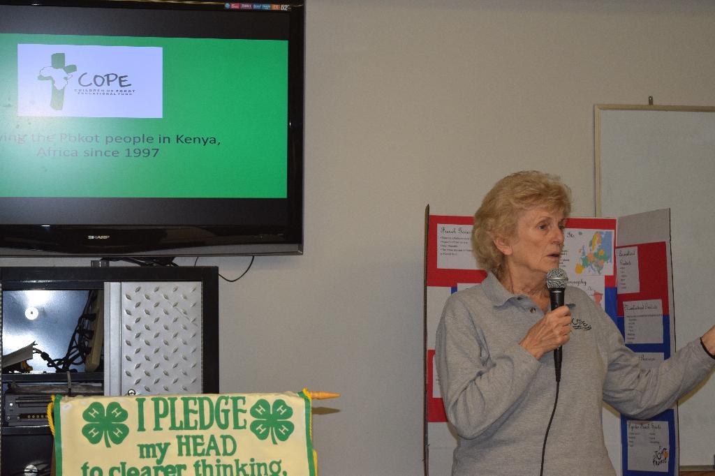 Guest Speaker Barbara O'Donohue.