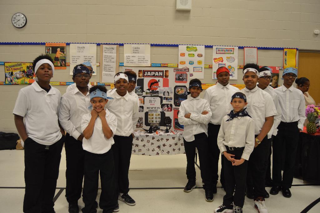 4-H Male Scholastic Achievement group photo