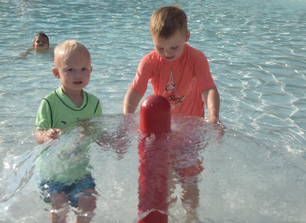 Little ones having fun