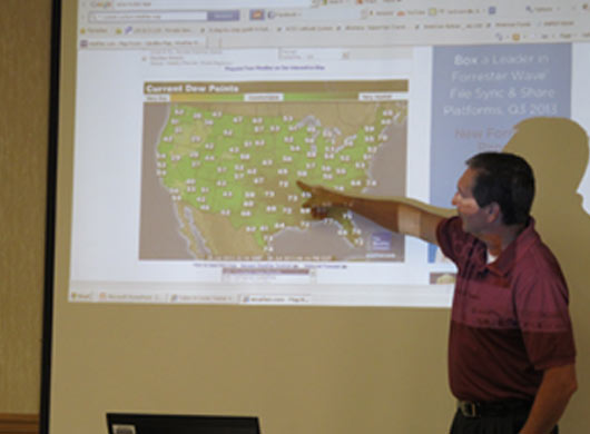 New Weather Observer Course a Success