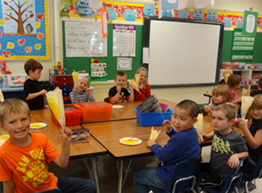 Ag in the Classroom visits Madison Park Elementary