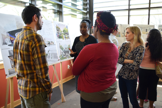 U of I Students Share Ideas to Improve Peoria's Southside Neighborhood