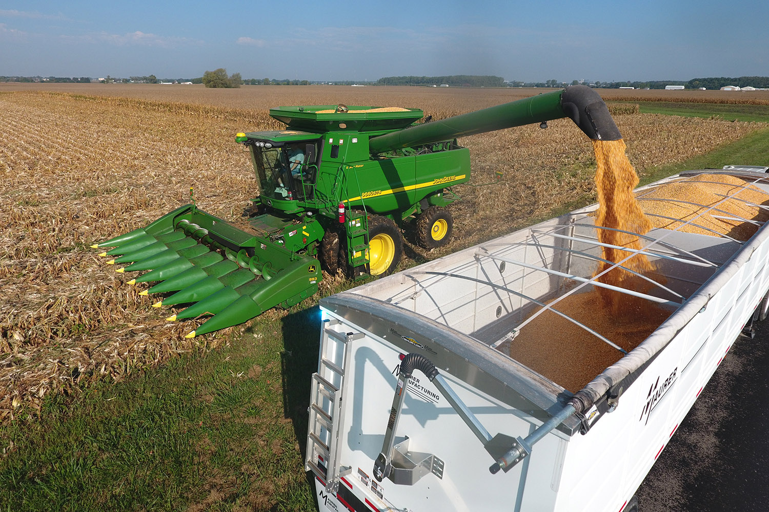 Illinois corn and soybean harvest considerations