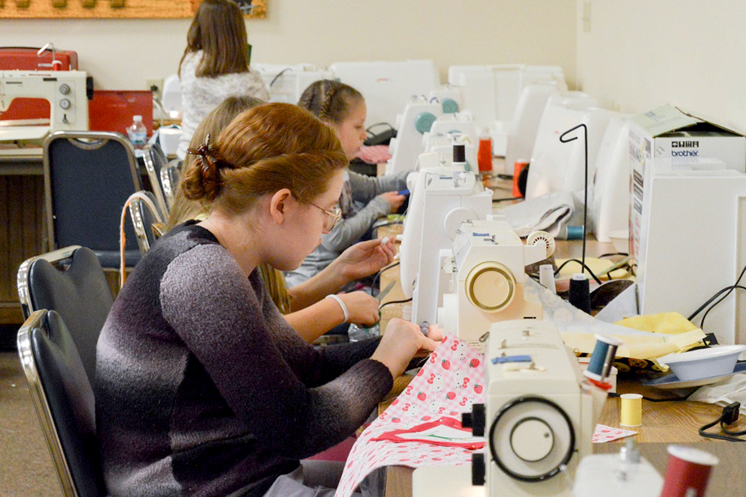 Piece by piece, 4-H members stitch together hope for children battling cancer