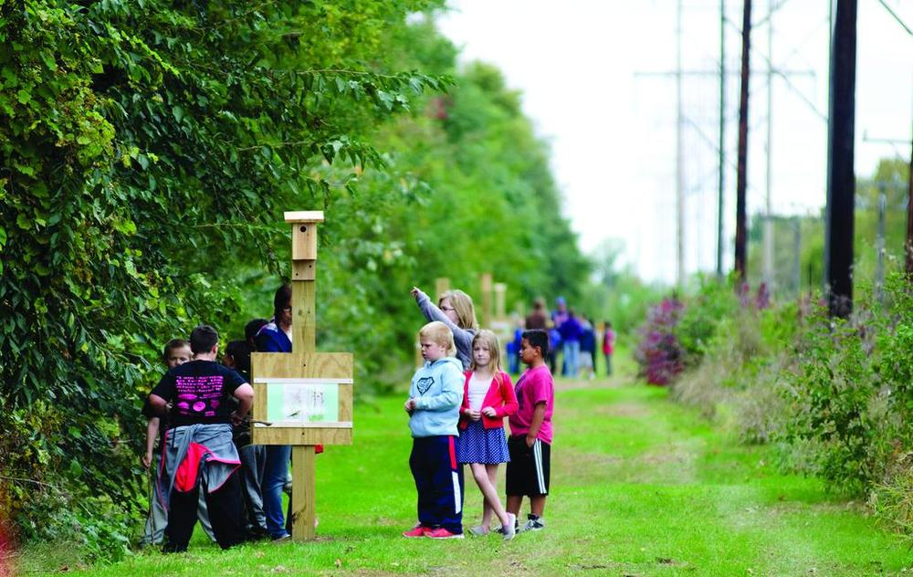 Storybook Trail Combines Reading, Nature, and Exercise