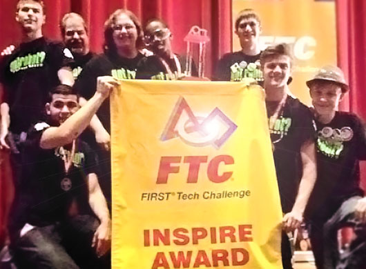 4-H 'got robot?' team claims top FIRST® Tech Inspire Challenge Award in state championship