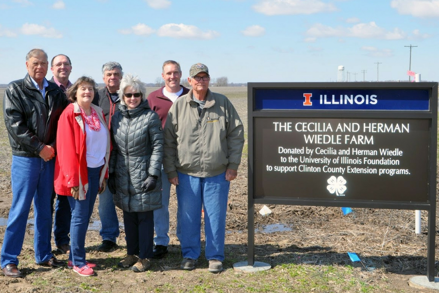 Farmland donated to benefit Clinton County Extension
