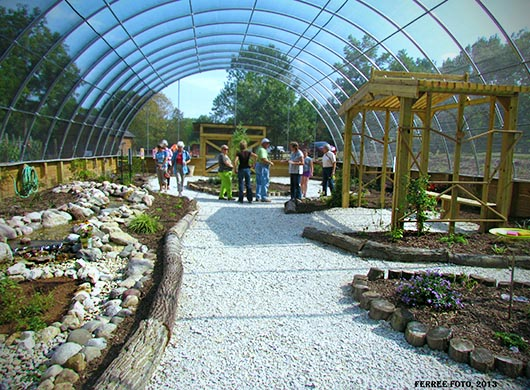 Butterfly Habitat Made Possible Through Extension Collaborative Effort