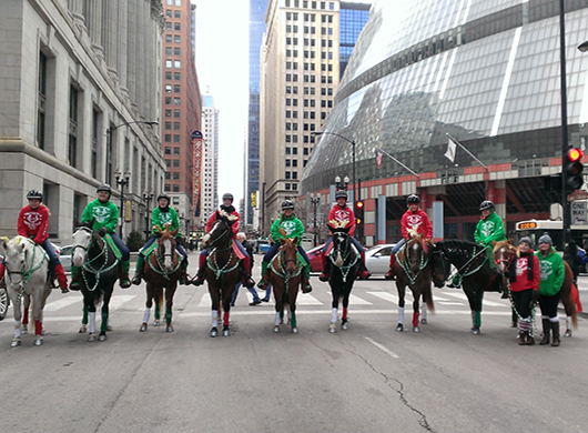 Ogle County 4-H Horse Drill Team