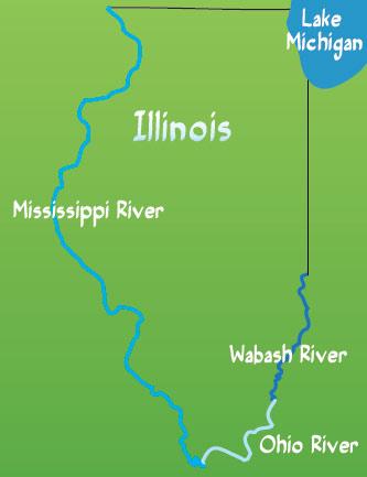 Illinois Landforms Shake Rattle And Slide University Of Illinois Extension