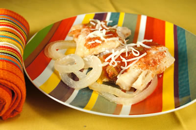 Filetes de pescado tex-mex