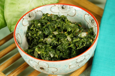 Quelites (Sauteed Greens or Spinach)