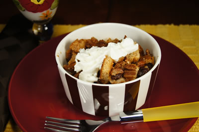 Bread Pudding Capirotada (Sopa)