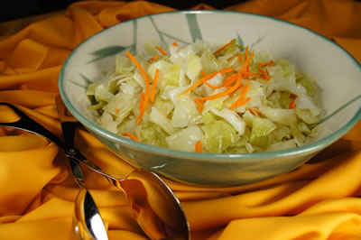 Curtido Salvadoreño (Cabbage Salad)