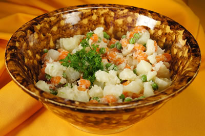 Potato and Carrot Salad