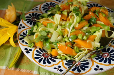 Zucchini and Apricot Salad